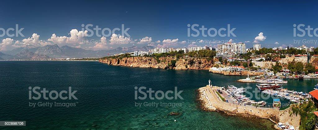 Beautiful view of Antalia Turkey stock photo