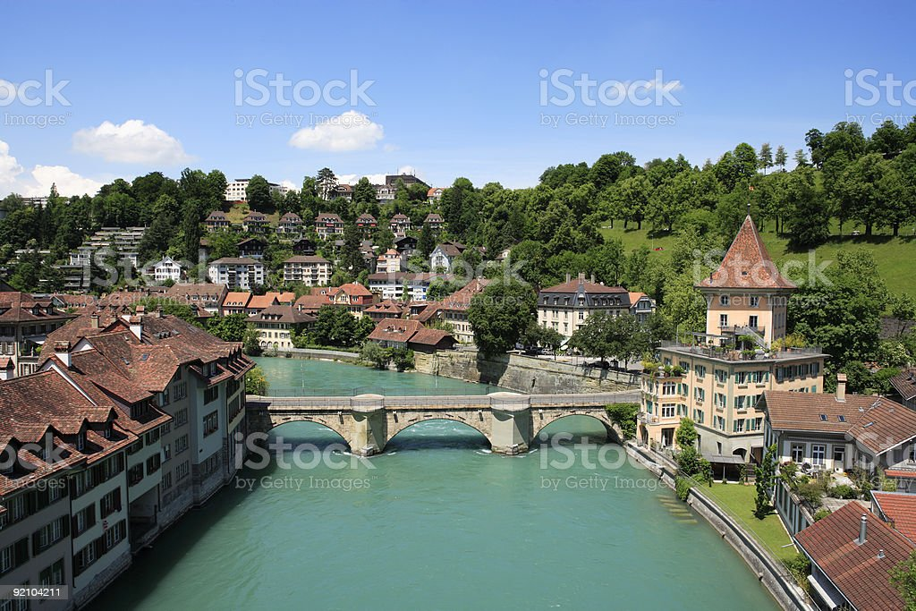 Beautiful view of Bern, Switzerland royalty-free stock photo