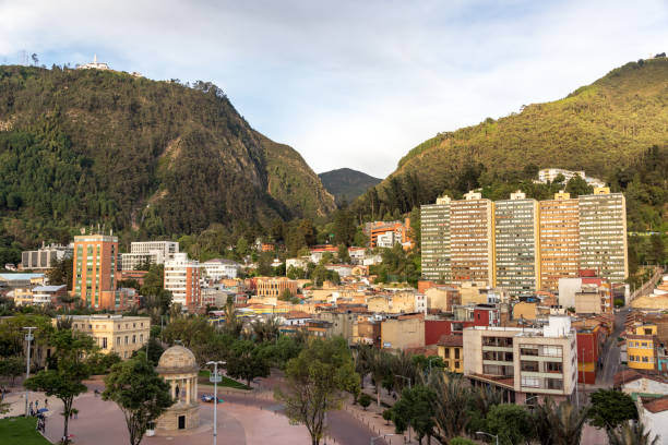 Beautiful View of Bogota stock photo
