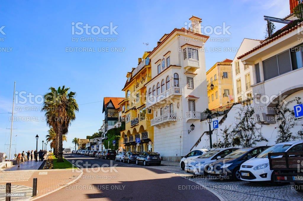 Cascais Portugal 26 März 2018 Einen Schönen Blick Auf Die