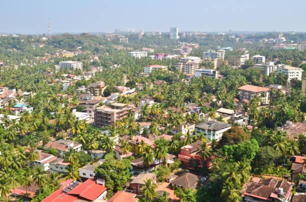 Beautiful view of green and clean Mangalore, Karnataka, India – Foto