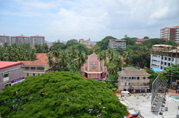Schöne Aussicht auf grüne & sauber Mangalore, Karnataka, Indien – Foto