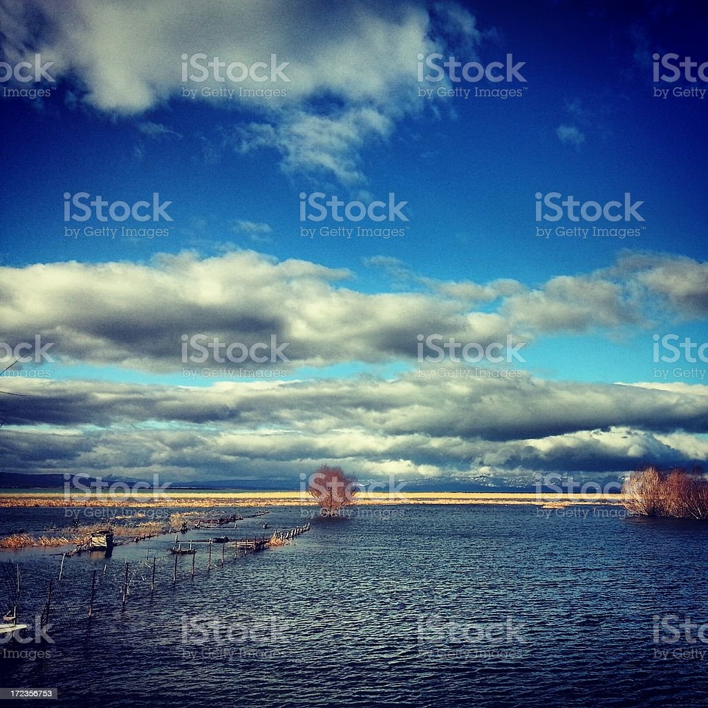 Beautiful View of Lake royalty-free stock photo