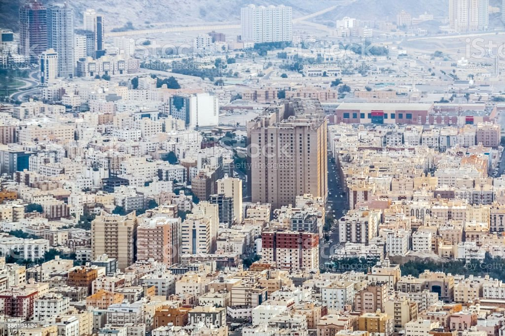 Beautiful View Of Makkah City From Makkah Mountains Saudi Arabia Stock Photo Download Image Now Istock