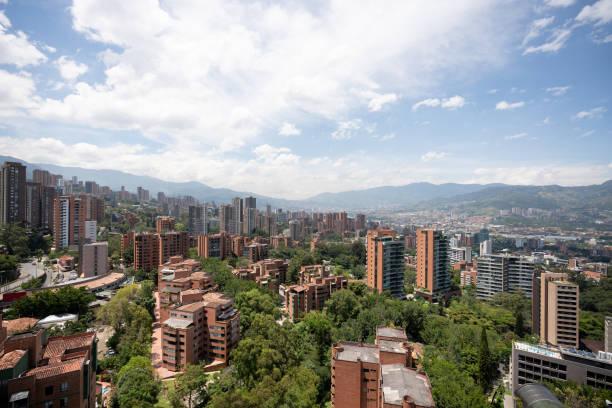 Schöne Aussicht auf Medellin, Kolumbien – Foto