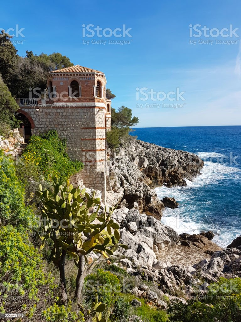 Beautiful View Of Mediterranean Seascape stock photo