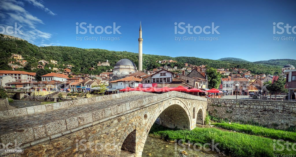 A beautiful view of Ottoman in Europe stock photo