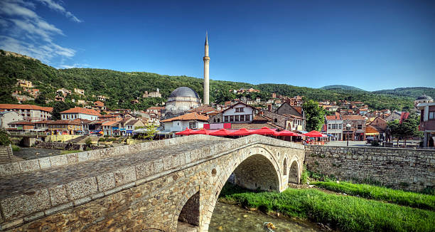 "A beautiful view of Ottoman in Europe Prizren, Kosovo: ""The cultural and historical capital of Kosovo"". davelongmedia stock pictures, royalty-free photos & images"