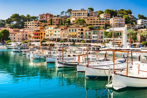 Belle vue sur Port de Soller sur Majorque, Iles Baléares - Photo