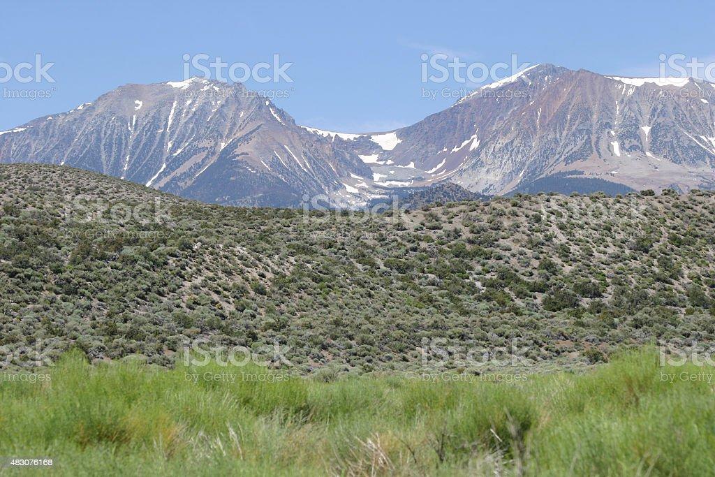 Beautiful View of Sierra Nevada stock photo