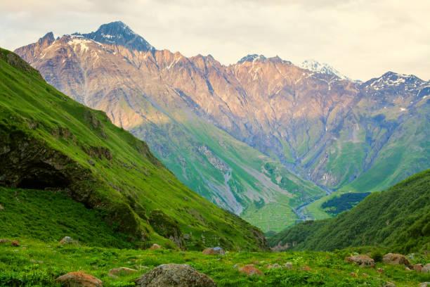 Beautiful view of Steep Mountain stock photo