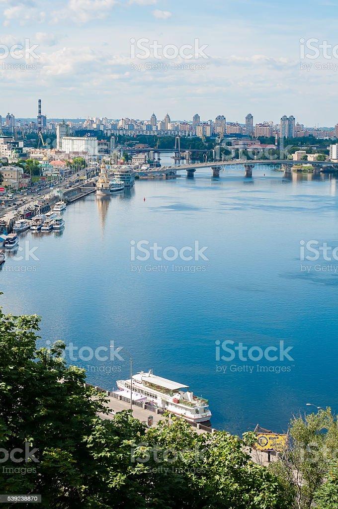 Hermosa vista del capital foto de stock libre de derechos
