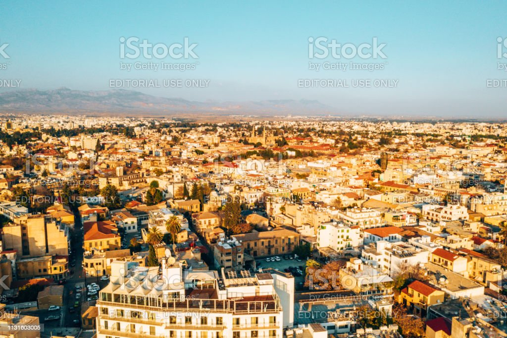 Beautiful View Of The Main Street Of Larnaca Stock Photo Download Image Now Istock
