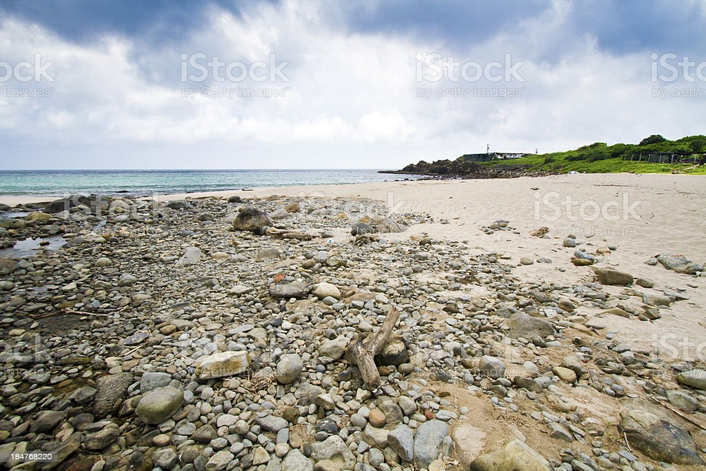 beautiful view of the pacific coastline royalty-free stock photo