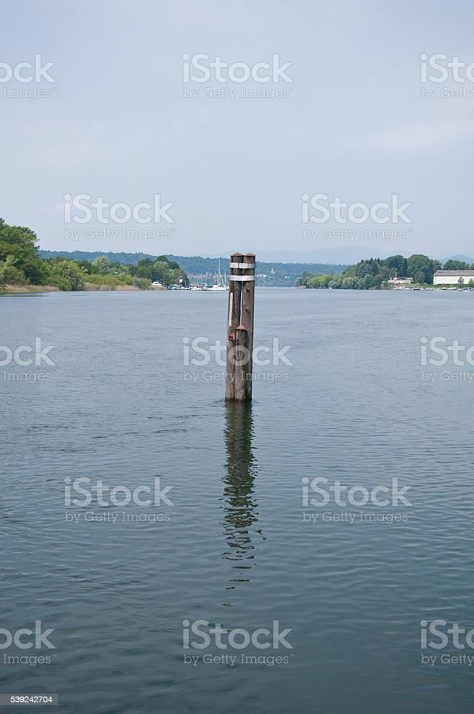 beautiful view of the Ticino panorana in the country o royalty-free stock photo
