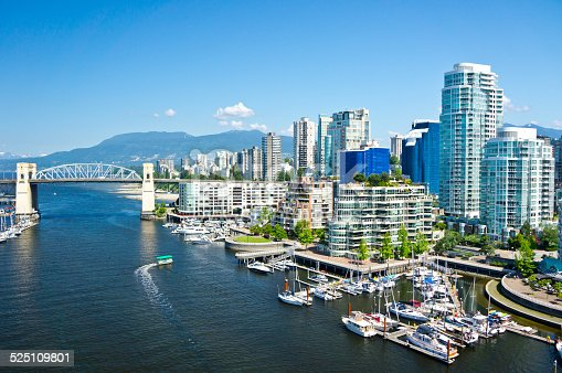 istock Beautiful view of Vancouver, British Columbia, Canada 525109801