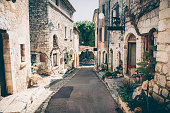 Beautiful view of village in Provence, France.