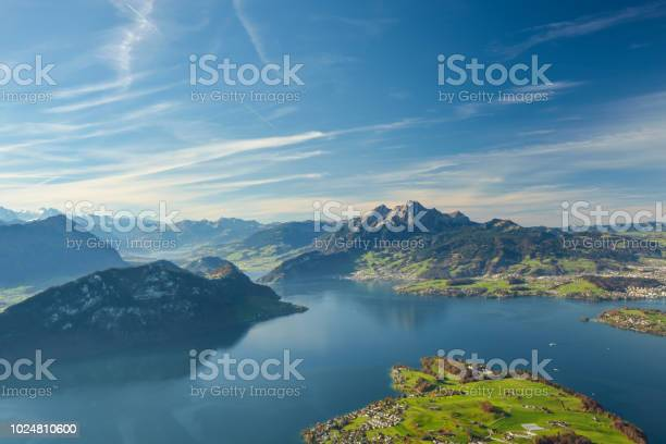 Photo of Beautiful view on Lake Lucerne and Mount Pilatus