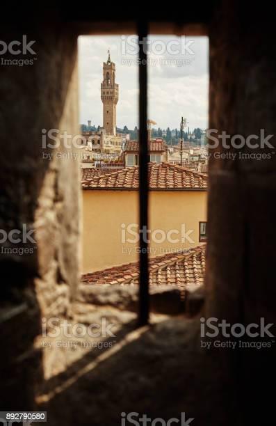 Beautiful view through the old window on palazzo vecchio picture id892790580?b=1&k=6&m=892790580&s=612x612&h=gqapjt ftmpo7w1rxz7hcs8cwpro1cxr owkyvpq7we=