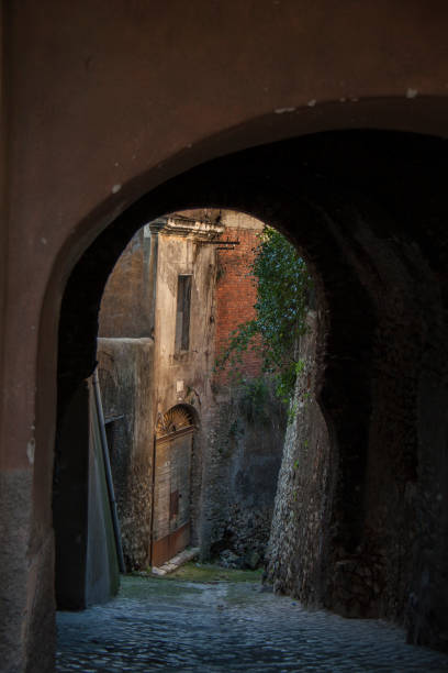 beautiful view to arch, italy - batalina italy стоковые фото и изображения