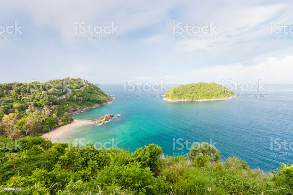 Beautiful views point scenery andaman sea in phuket island ,Thailand. royalty-free stock photo