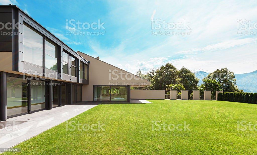 Wunderschöne villa, im Freien – Foto