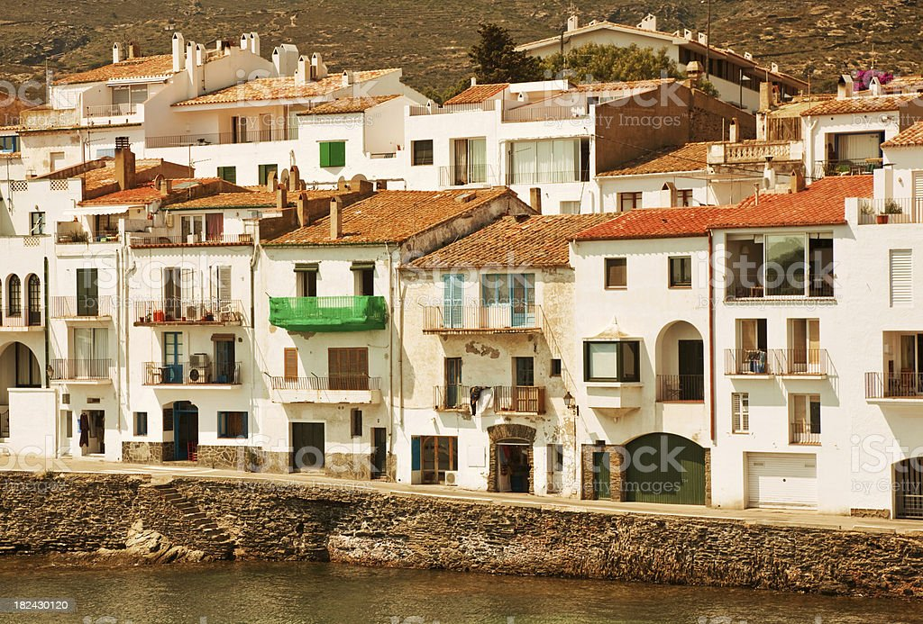 beautiful village in spain royalty-free stock photo