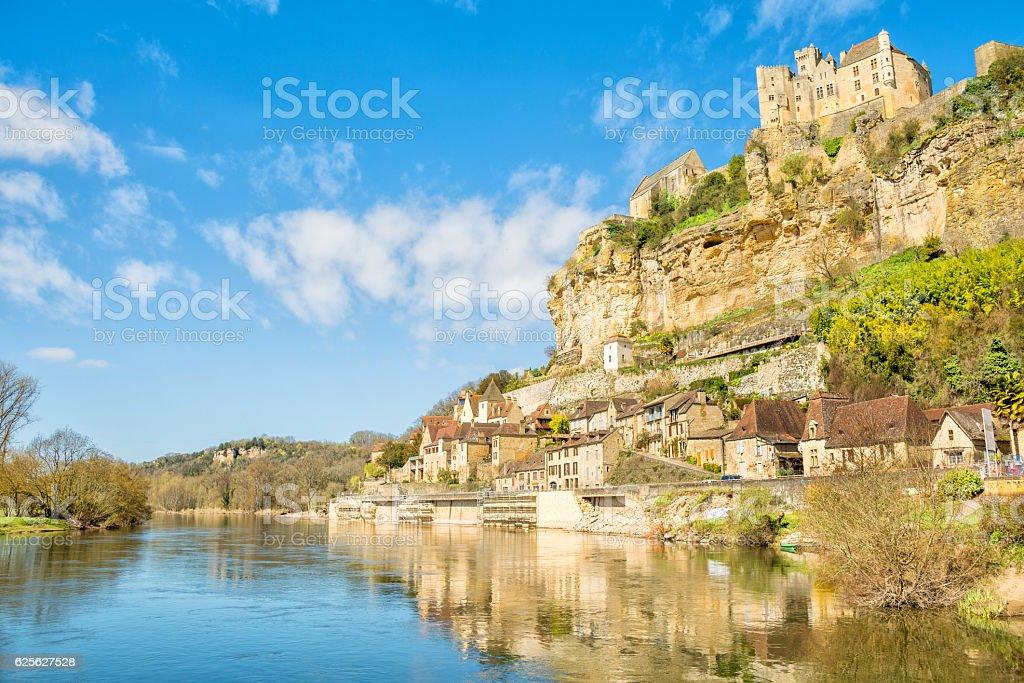 beautiful village of beynac et cazenac at perigord, france - Photo
