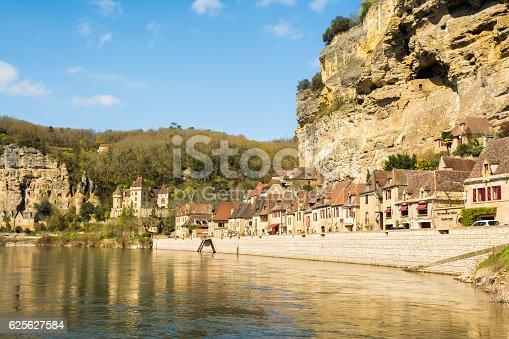 istock beautiful village of la roque gageac at perigord, france 625627584