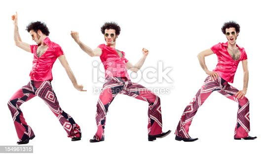 istock beautiful vintage pink dancer moves isolated on white 154961315