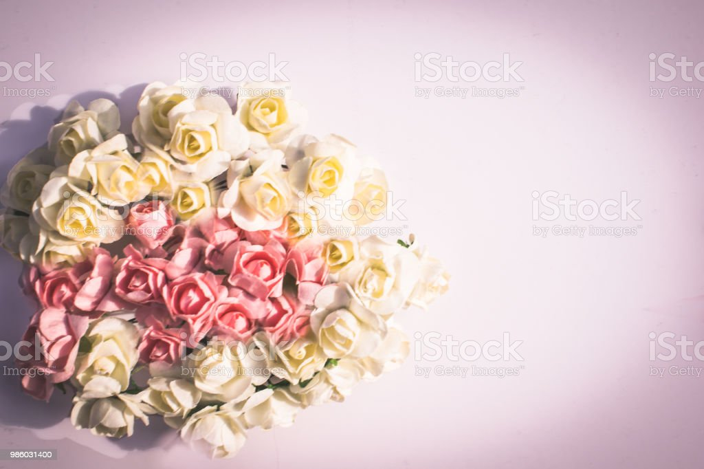 Beautiful vintage rose background white pink purple violet cream beautiful vintage rose background white pink purple violet cream color bouquet mightylinksfo