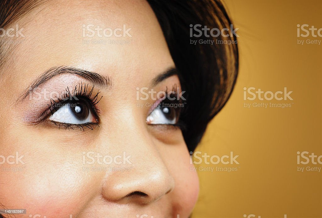 Beautiful vision royalty-free stock photo