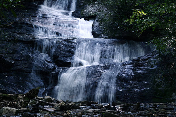 Beautiful Waterfal stock photo