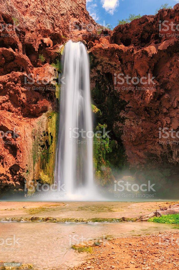 Beautiful waterfall in the Grand Canyon, Arizona photo libre de droits