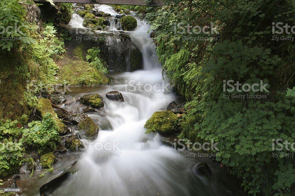 Beautiful waterfall royalty-free stock photo