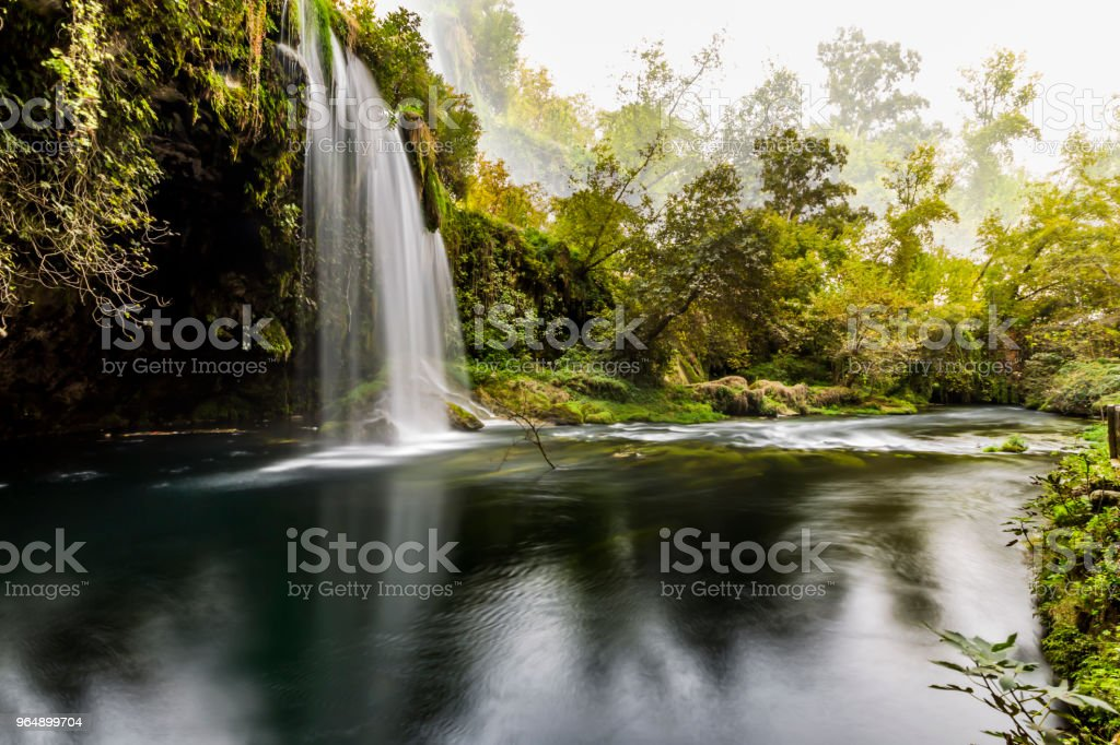 Beautiful Waterfall royalty-free stock photo