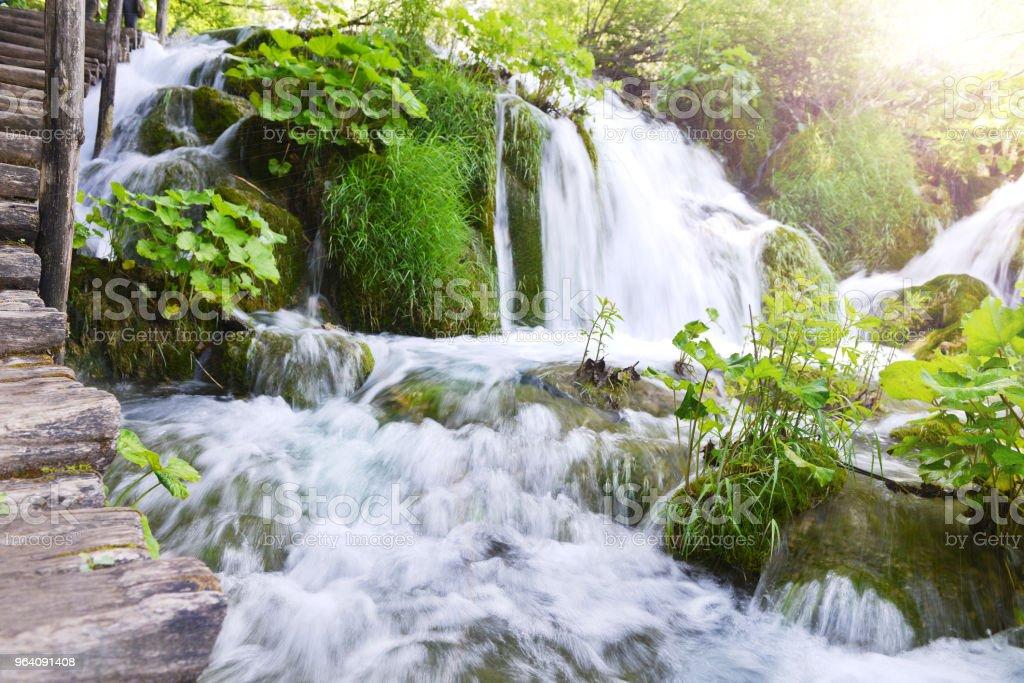 beautiful waterfalls - Royalty-free Beauty Stock Photo
