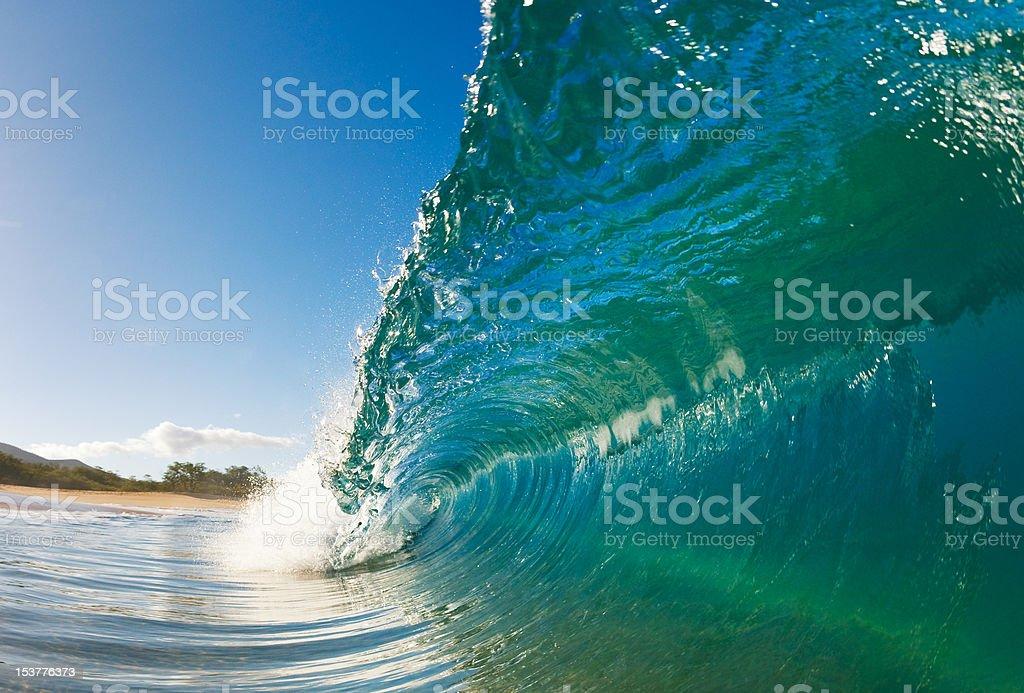 Beautiful Wave royalty-free stock photo