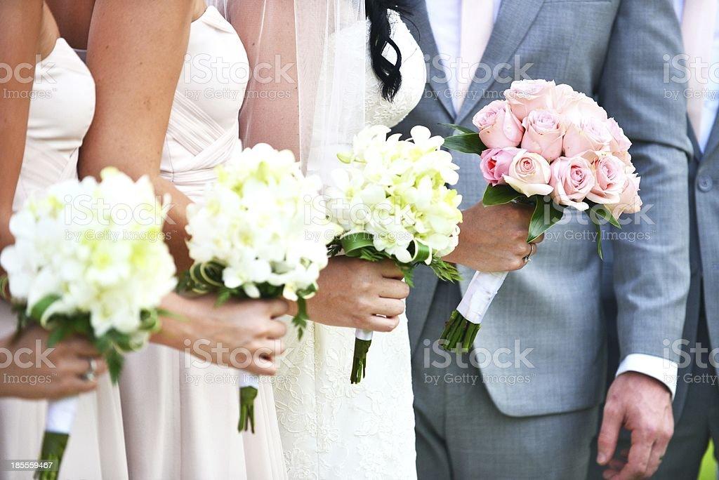 Beautiful wedding bouquet royalty-free stock photo