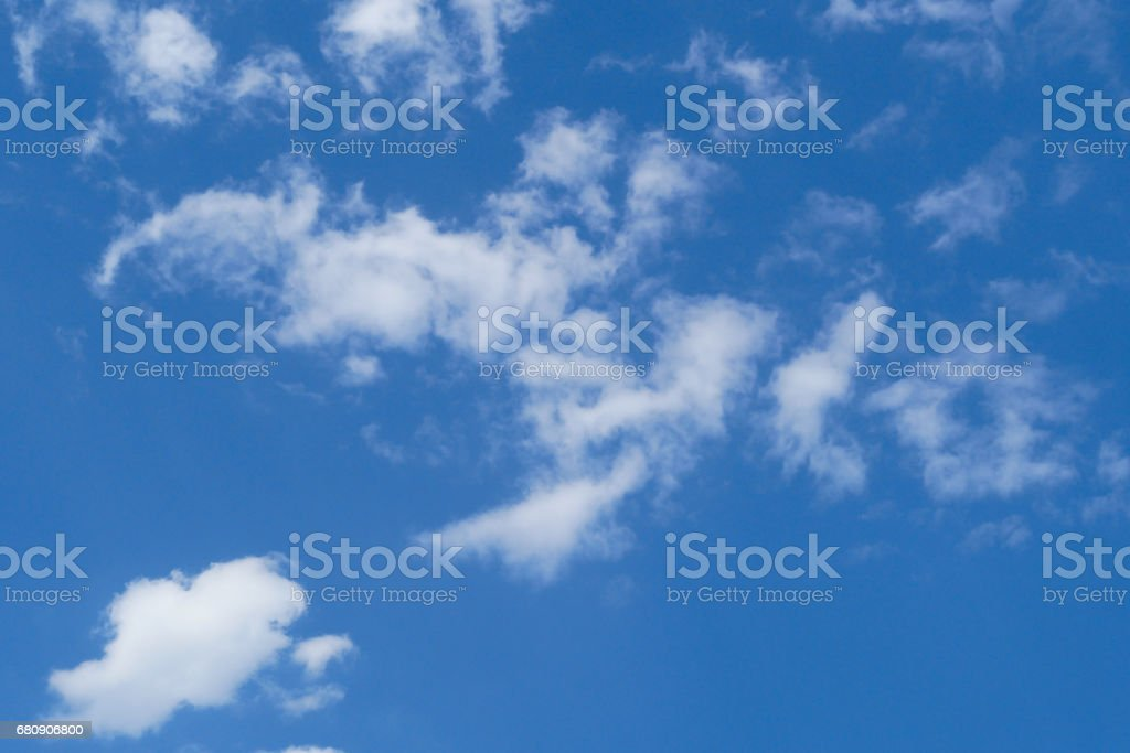 Beautiful white cloud on the blue sky royalty-free stock photo