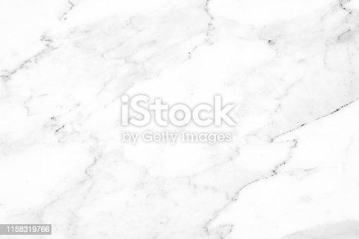 istock Beautiful white marble texture. 1158319766