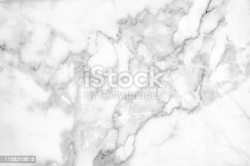 istock Beautiful white marble texture. 1158319815