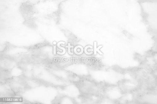 istock Beautiful white marble texture. 1158319816