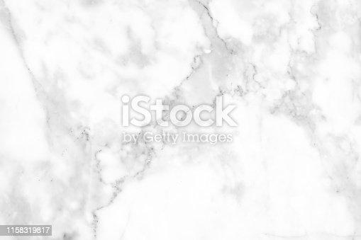 istock Beautiful white marble texture. 1158319817