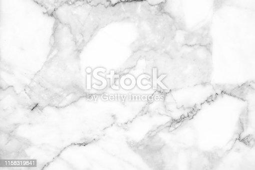 istock Beautiful white marble texture. 1158319841