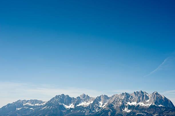 Wunderschöne Wilden Kaiser Mountain Range – Foto