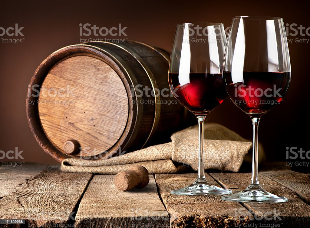 Beautiful wine stock photo