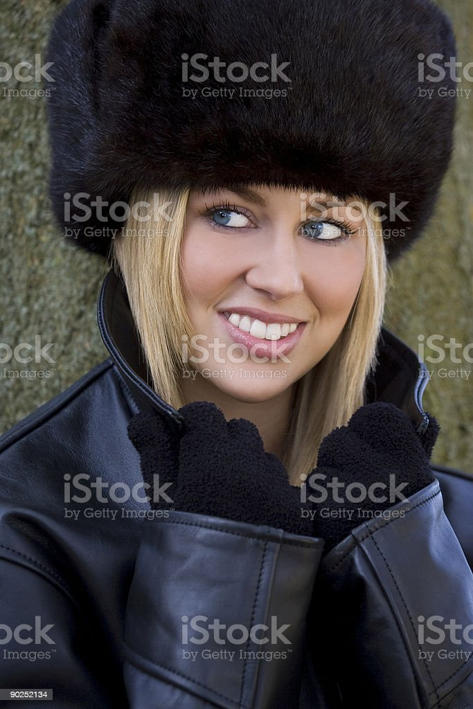 Beautiful Winter Warmth royalty-free stock photo
