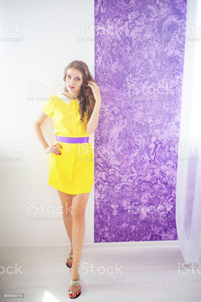 schöne Frau Schönheit Stil - Lizenzfrei Atelier Stock-Foto