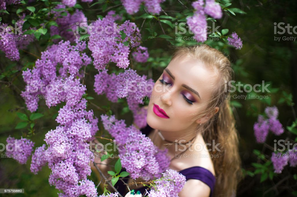 schöne Frau Schönheit Stil - Lizenzfrei Aromatherapie Stock-Foto